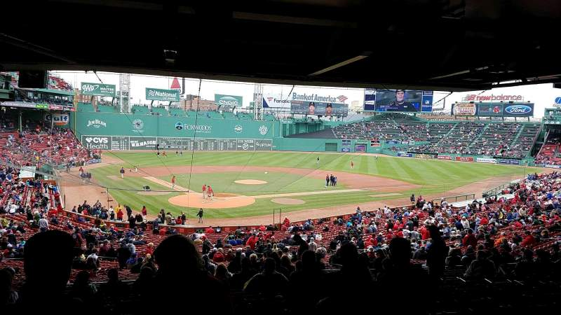 Fenway Park, section: Grandstand 19, row: 15, seat: 11