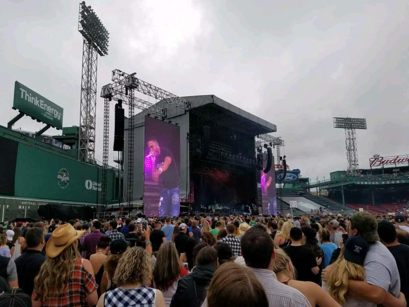 Fenway Park, section: B7, row: 5, seat: 30