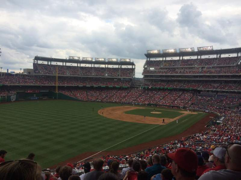 Seating view for Nationals Park Section 202 Row K Seat 24