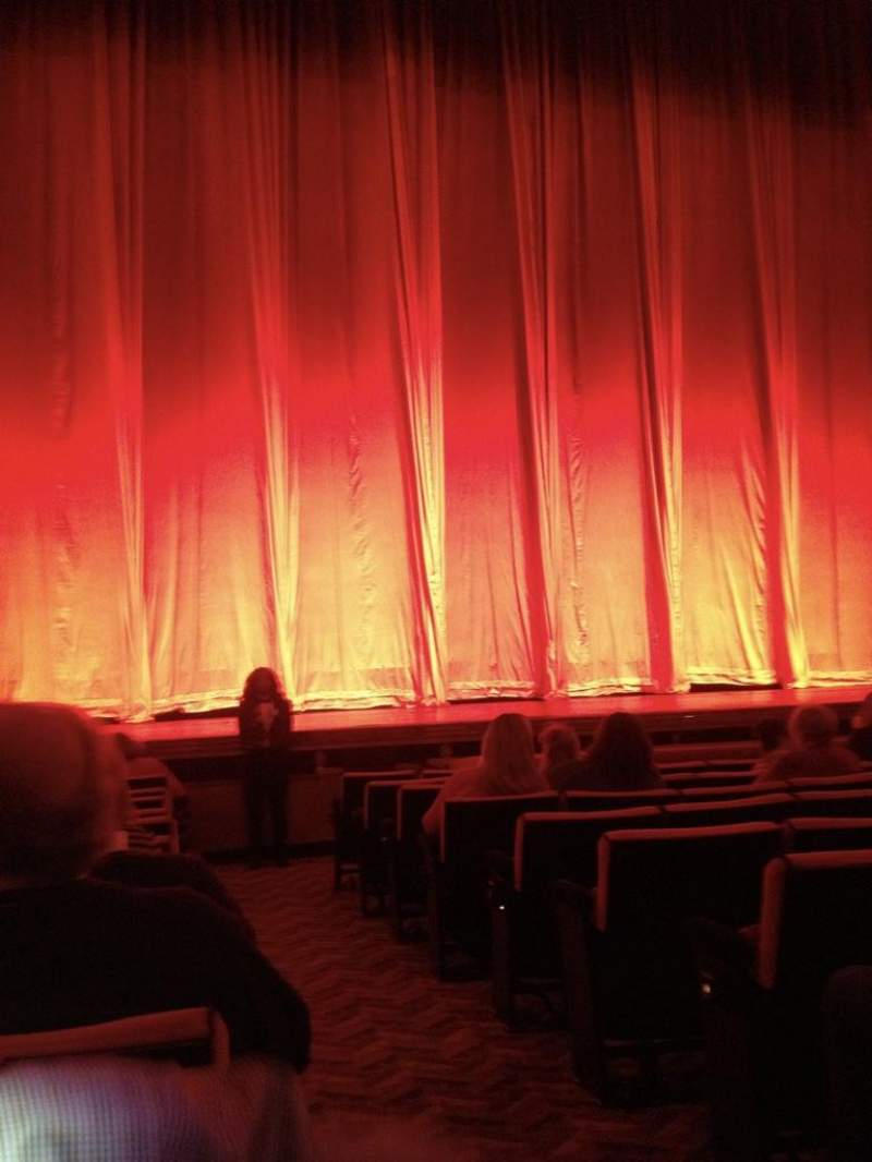 Radio City Music Hall, section: Orchestra 5, row: LL, seat: 501