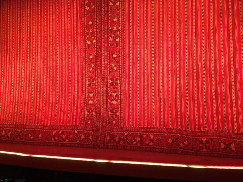 Seating view for New Amsterdam Theatre Section Orchestra C Row E Seat 101
