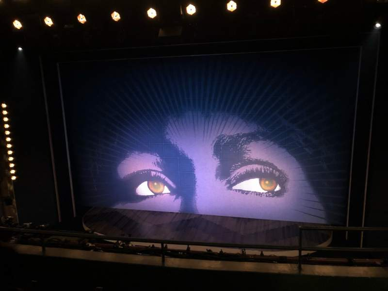 Seating view for Lunt-Fontanne Theatre Section Front Mezzanine C Row C Seat 114
