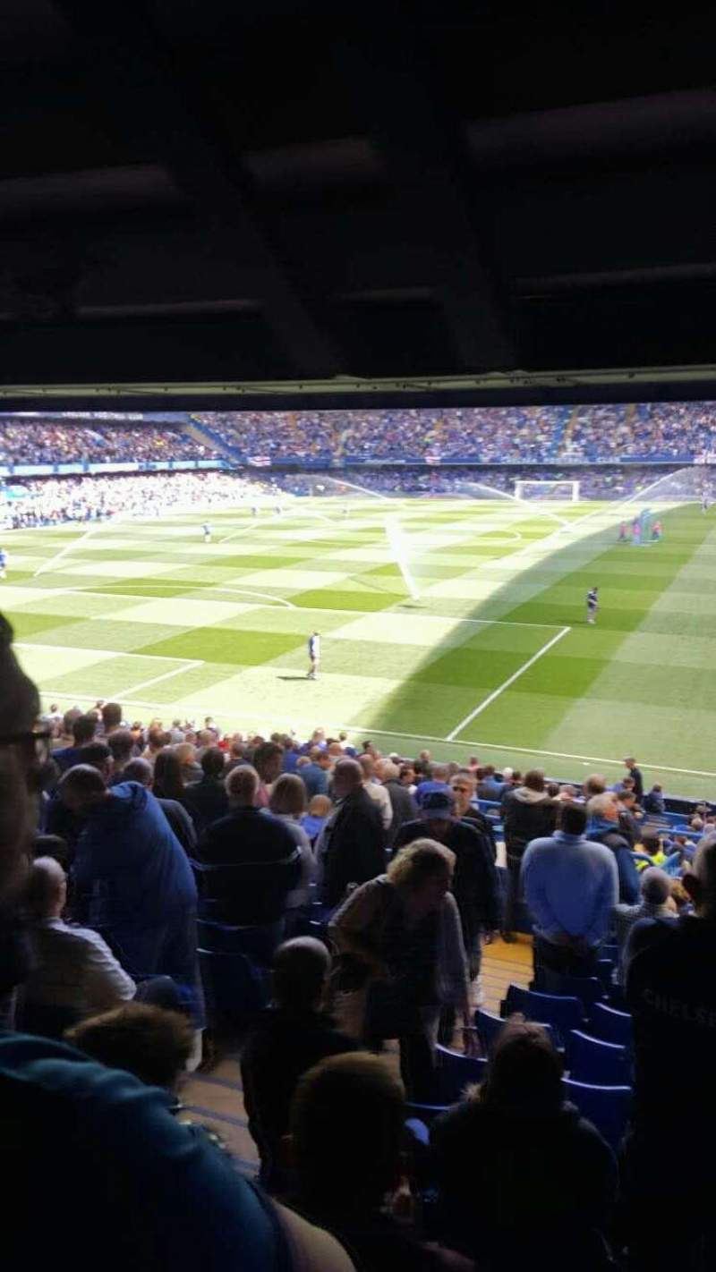 Seating view for Stamford Bridge Section Matthew Harding Upper 10 Row EE Seat 0302