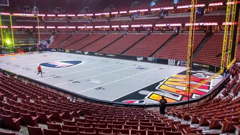 Honda Center, section: 204, row: S, seat: 8