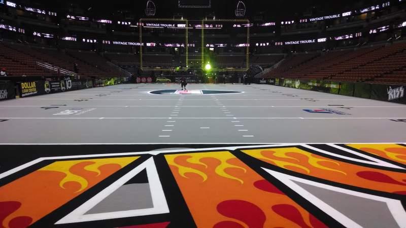 Honda Center, section: 201, row: A, seat: 8