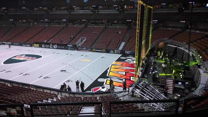 Honda Center, section: 317, row: C, seat: 8