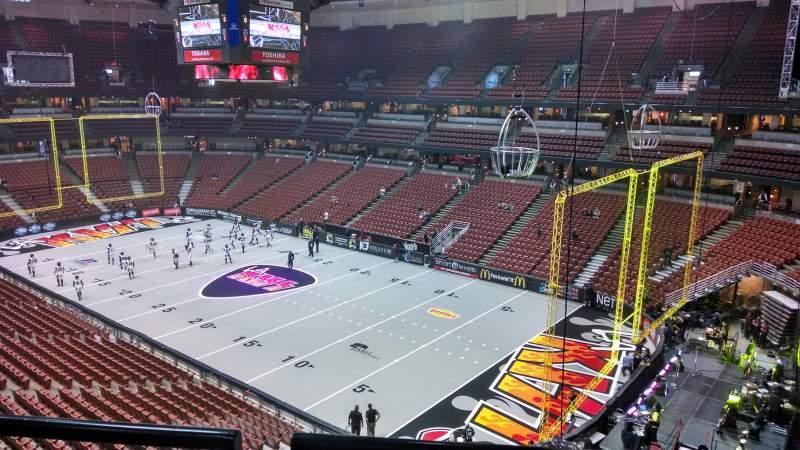 Honda Center, section: 428, row: B, seat: 8