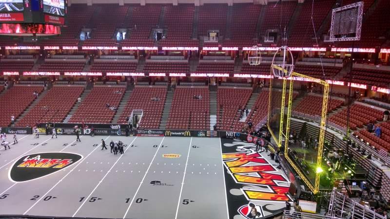 Honda Center, section: 431, row: B, seat: 8