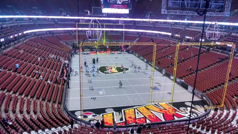 Honda Center, section: 401, row: B, seat: 8