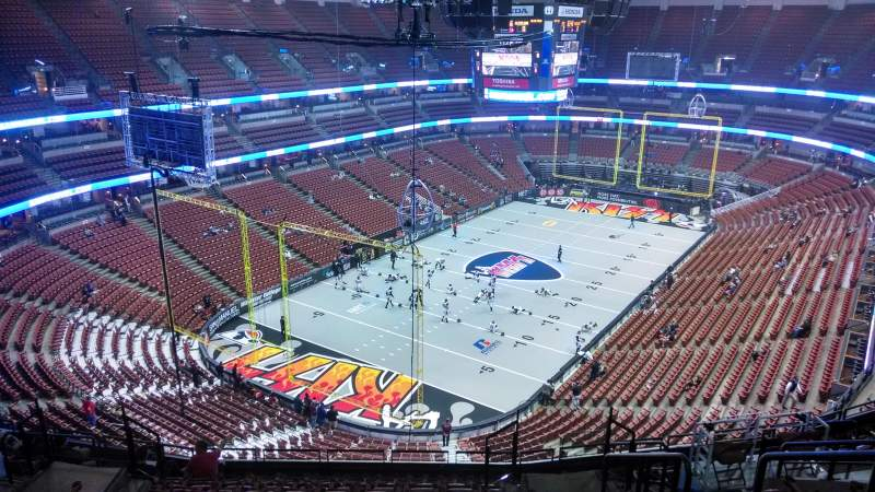 Seating view for Honda Center Section 441 Row N Seat 8