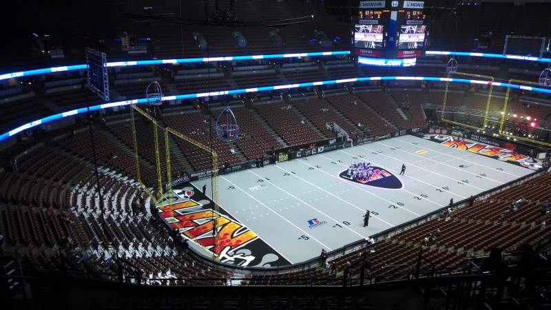 Seating view for Honda Center Section 439 Row N Seat 8