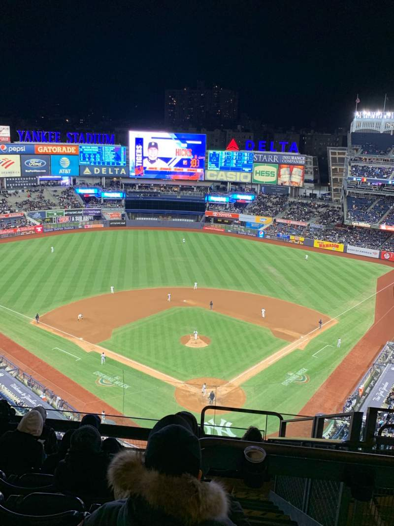 Seating view for Yankee Stadium Section 420C Row 9 Seat 4