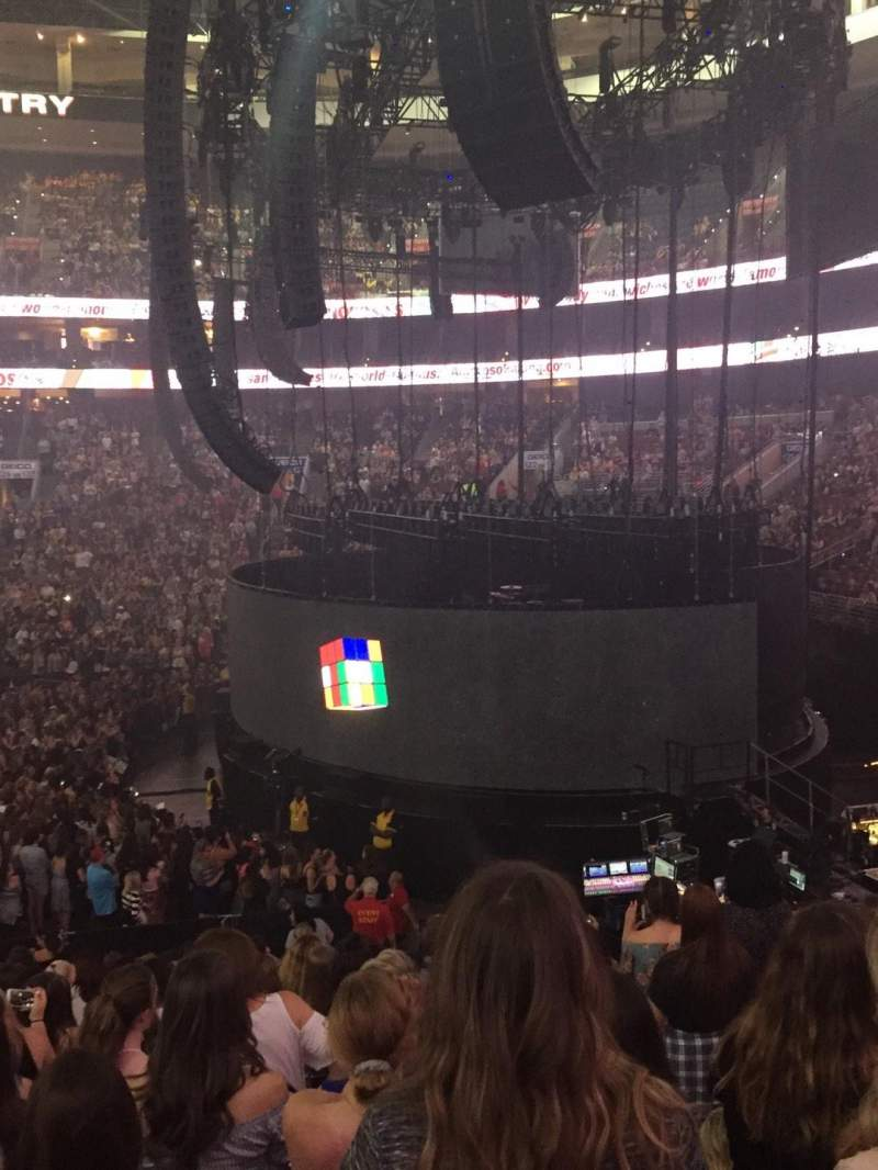 Wells Fargo Center, section: 115, row: 18, seat: 8