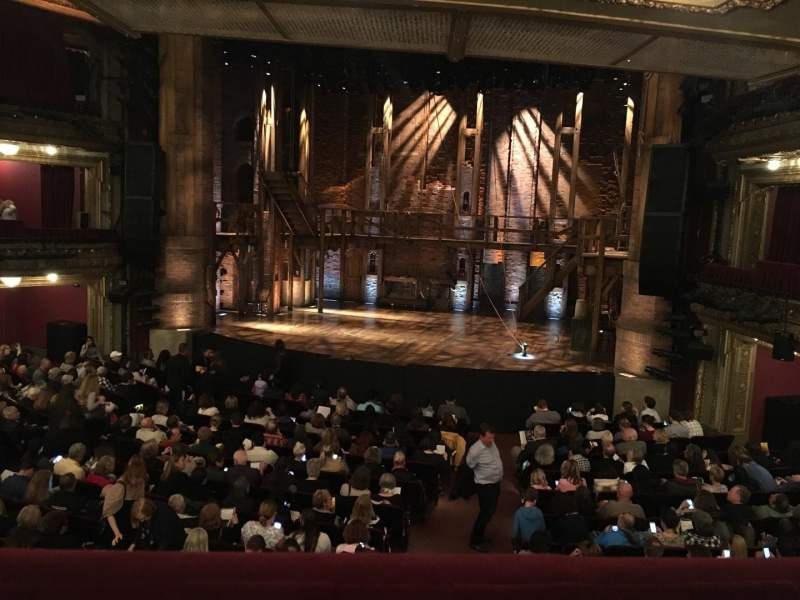 Seating view for PrivateBank Theatre Section Dress Circle R Row A Seat 226