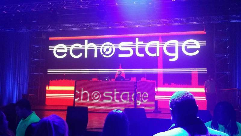 Seating view for EchoStage Section GA Row GA Seat GA