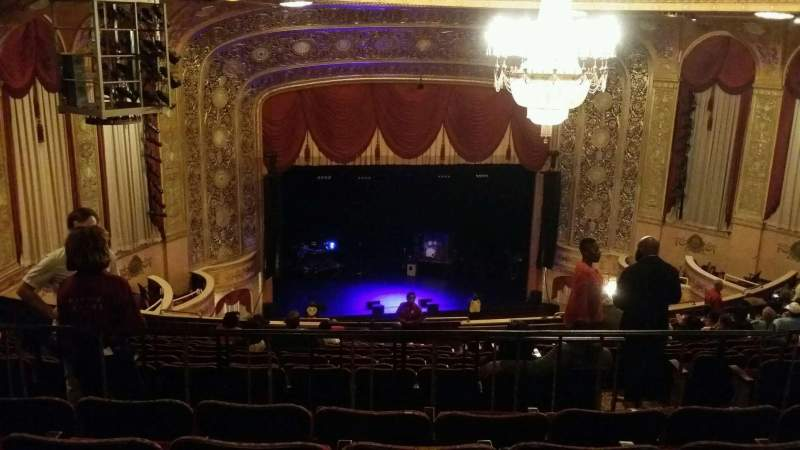 Seating view for Warner Theatre (Washington, D.C.) Section uprbl Row pp Seat 13