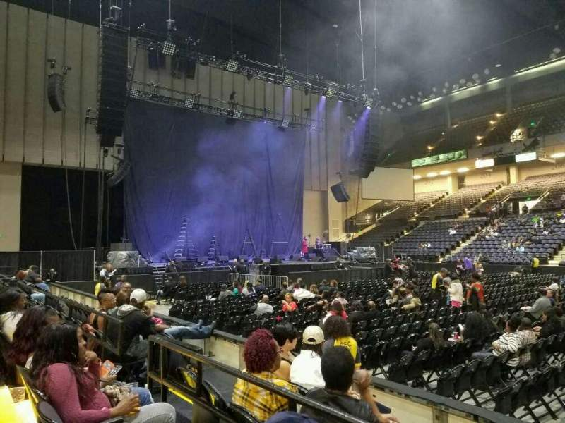 Royal Farms Arena, section: 109, row: B, seat: 7