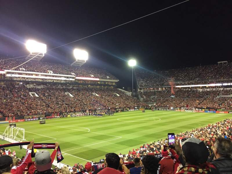 Seating view for Bobby Dodd Stadium Section 131 Row 29 Seat 10