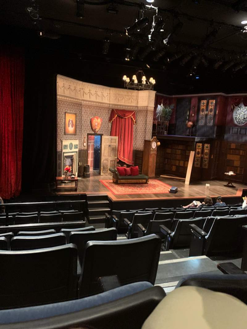 Seating view for New World Stages - Stage 4 Section Orchestra L Row K Seat 3