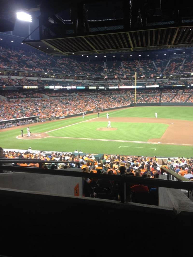Seating view for Oriole Park at Camden Yards Section 19 Row 7