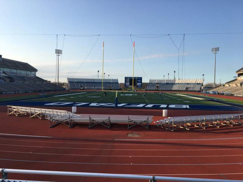 Seating view for UB Stadium Section 237 Row A Seat 1