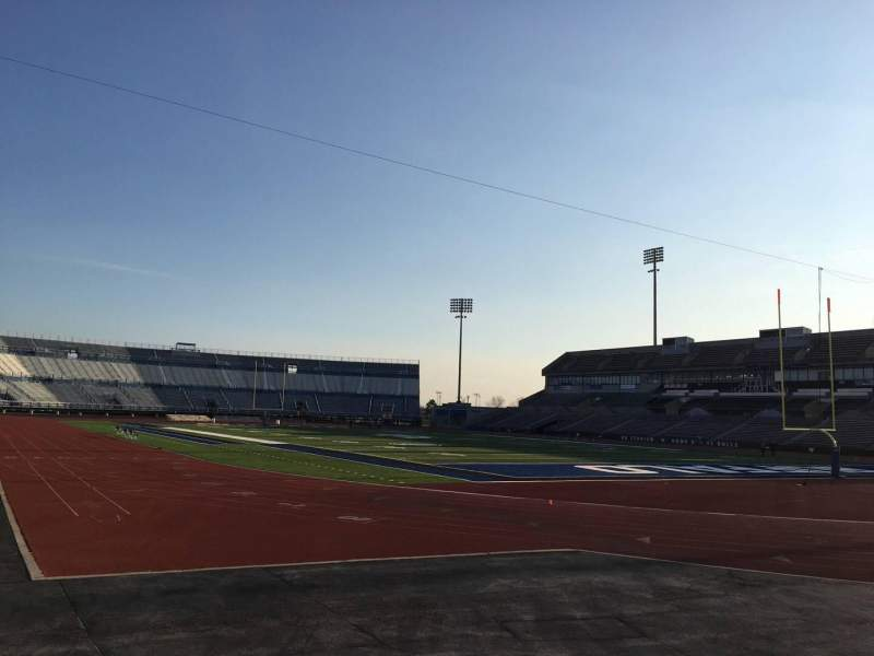 UB Stadium, section: 120, row: A, seat: 4