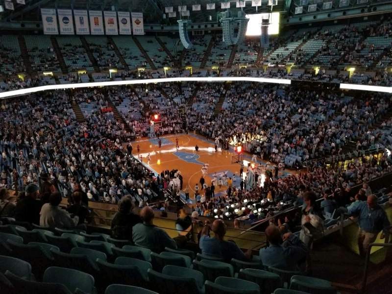 Dean Dome, section: 214, row: K, seat: 2