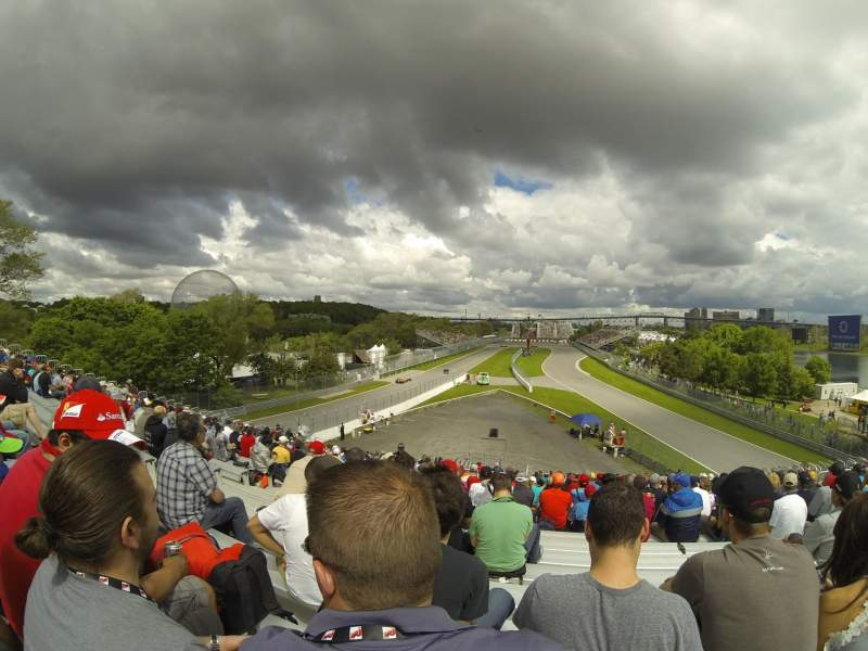 Seating view for Circuit Gilles Villeneuve Section 34