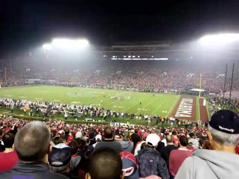 Rose Bowl, section: 7, row: 54, seat: 1