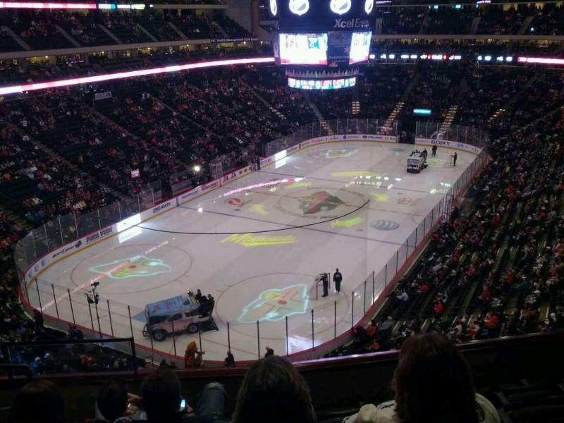 Seating view for Xcel Energy Center Section C13 Row 6 Seat 12