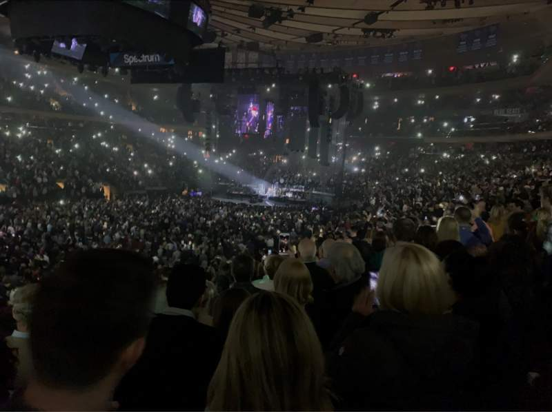 Seating view for Madison Square Garden Section 106 Row 17 Seat 6