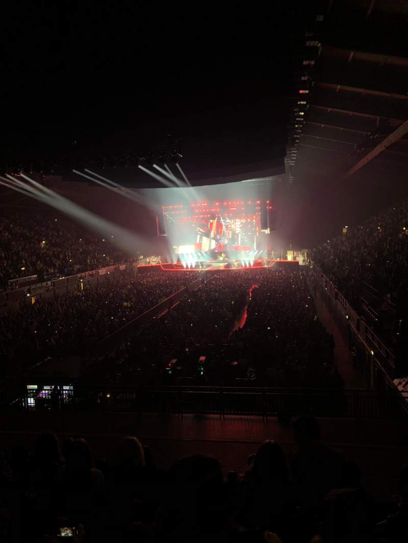 Seating view for SSE Arena, Wembley Section E2 Row M Seat 24