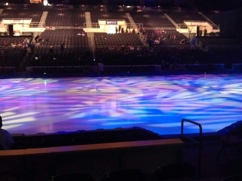 Seating view for Dunkin' Donuts Center Section 123 Row GG Seat 3