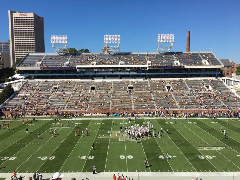 Seating view for Bobby Dodd Stadium Section 225 Row 16 Seat 13