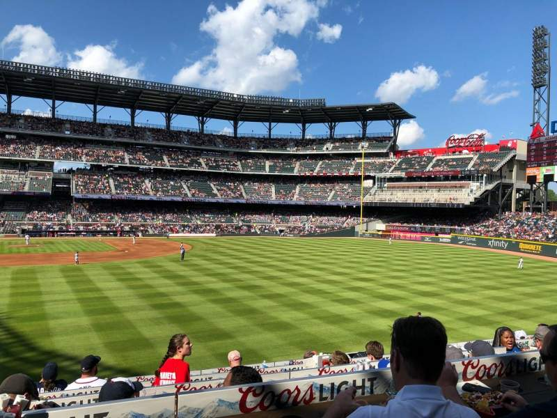 SunTrust Park, section: 159, row: 5, seat: 7