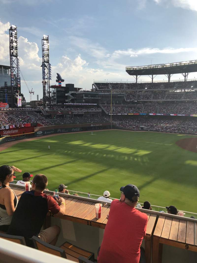 Seating view for SunTrust Park Section 246