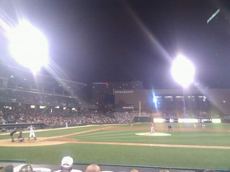 Seating view for Victory Field Section 114 Row k Seat 22