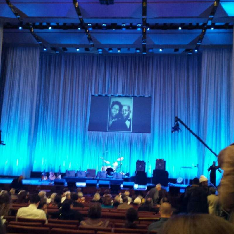 Seating view for The Kennedy Center Concert Hall Section Orchestra Row W Seat 101