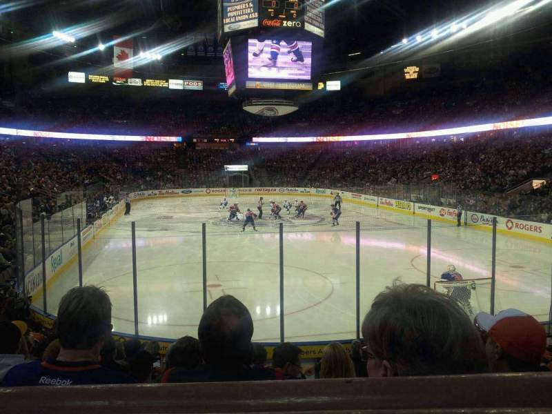 Seating view for Northlands Coliseum Section 112 Row 12 Seat 3