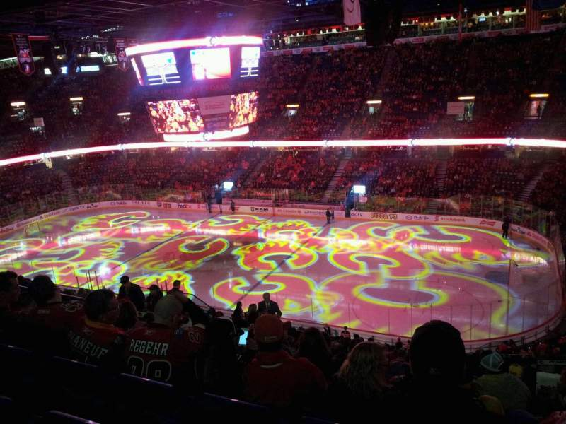 Seating view for Scotiabank Saddledome Section 228 Row 18 Seat 15