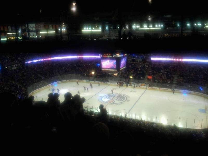 Seating view for Rexall Place Section 335 Row 50 Seat 3