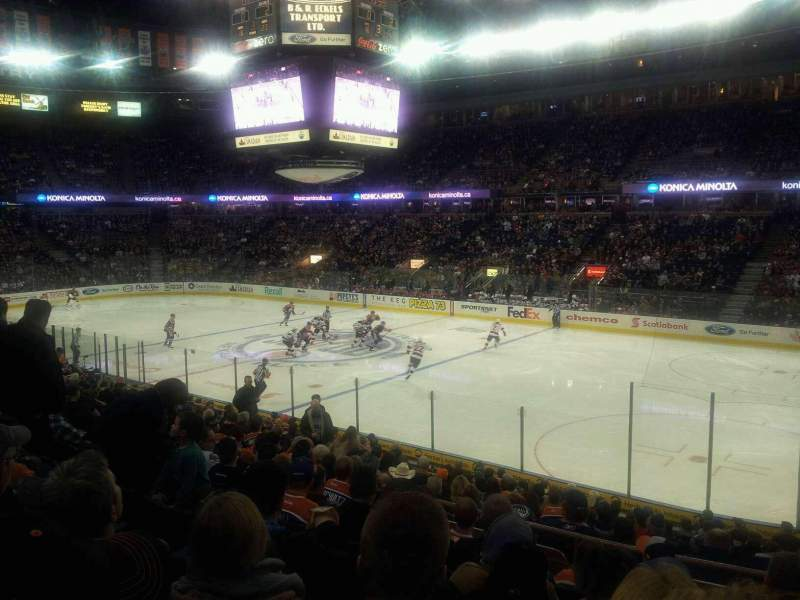 Seating view for Northlands Coliseum Section 134 Row 18 Seat 9