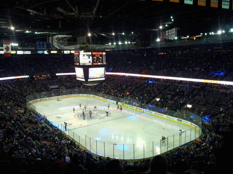 Seating view for Rexall Place Section 213 Row 36 Seat 10