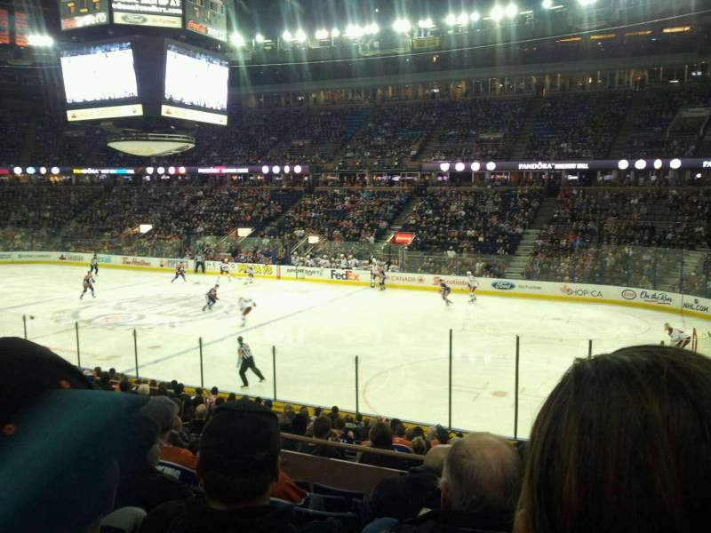 Seating view for Rexall Place Section 134 Row 18 Seat 10