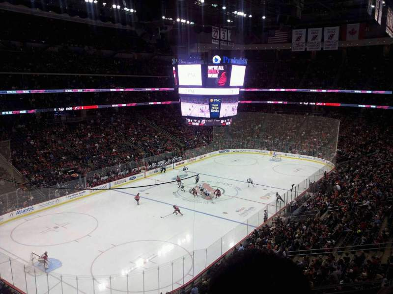 Seating view for Prudential Center Section 124 Row 3 Seat 11