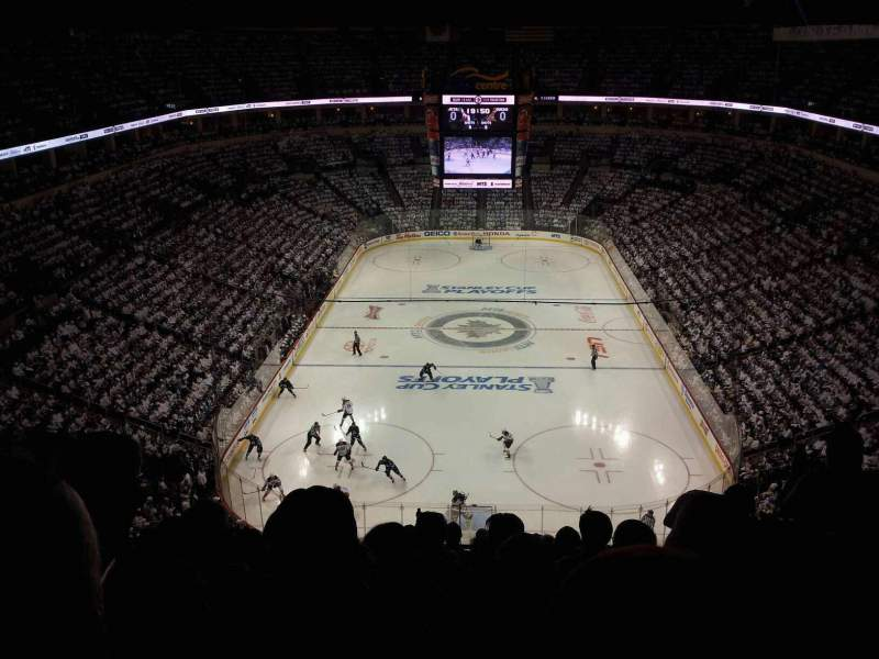 Seating view for MTS Centre Section 313 Row 10 Seat 8