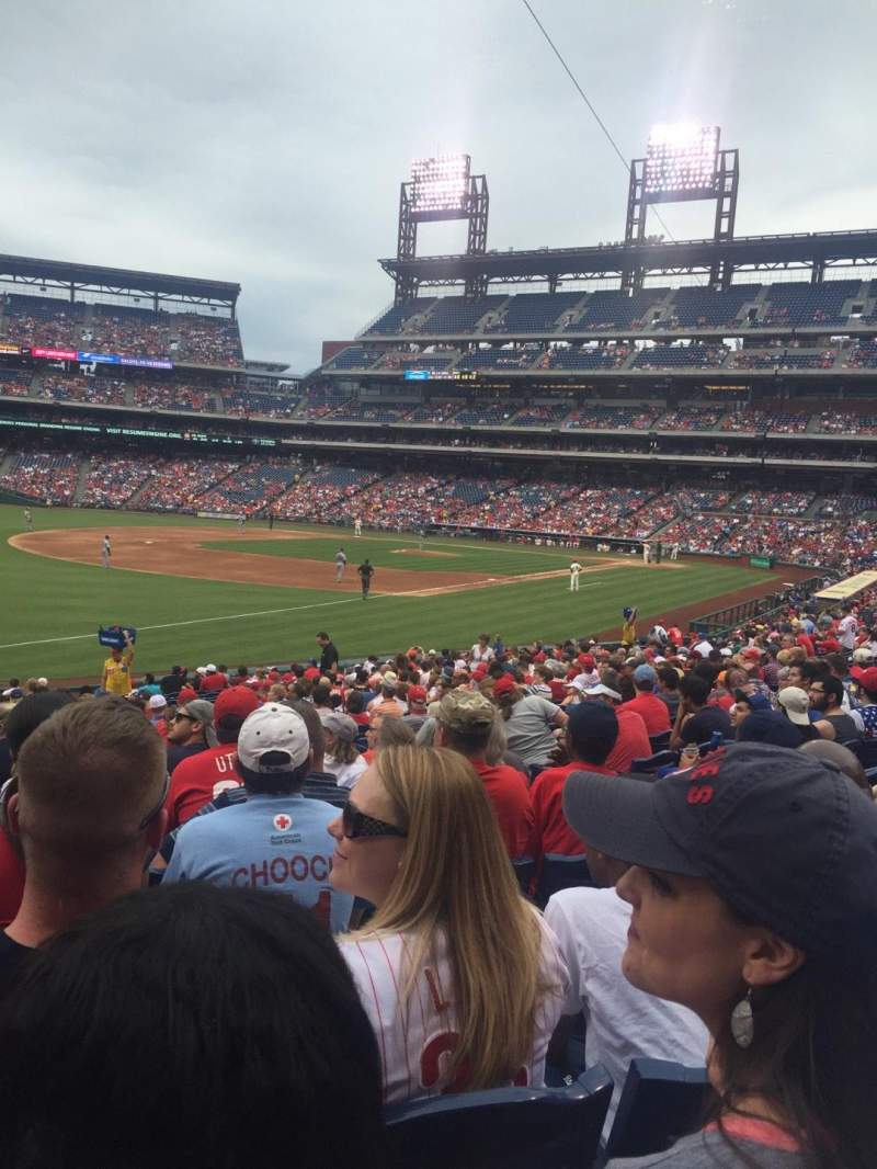 Seating view for Citizens Bank Park Section 137 Row 27 Seat 7