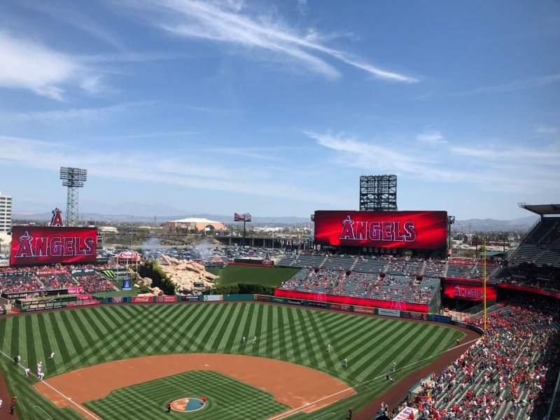 Angel Stadium, section: V522, row: F, seat: 11