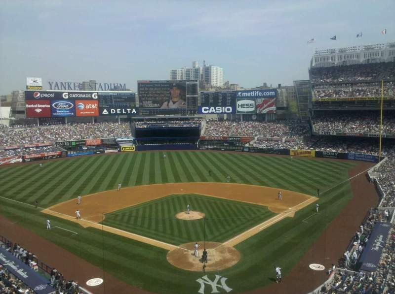 Seating view for Yankee Stadium Section luxury box