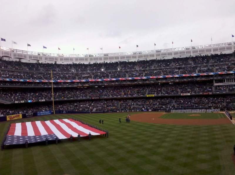 Seating view for Yankee Stadium Section 233b Row 2 Seat 7